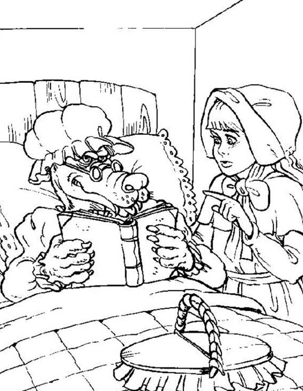 Red Riding Hood coloring #17, Download drawings