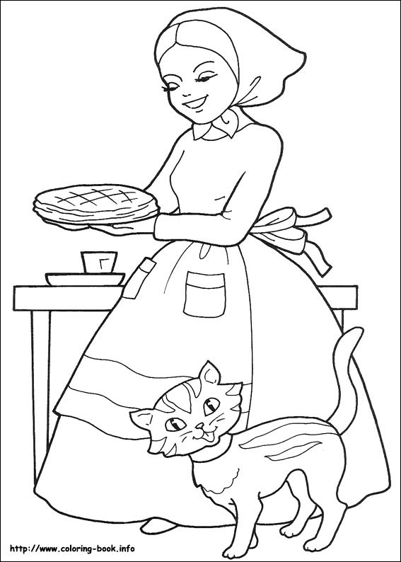 Red Riding Hood coloring #12, Download drawings