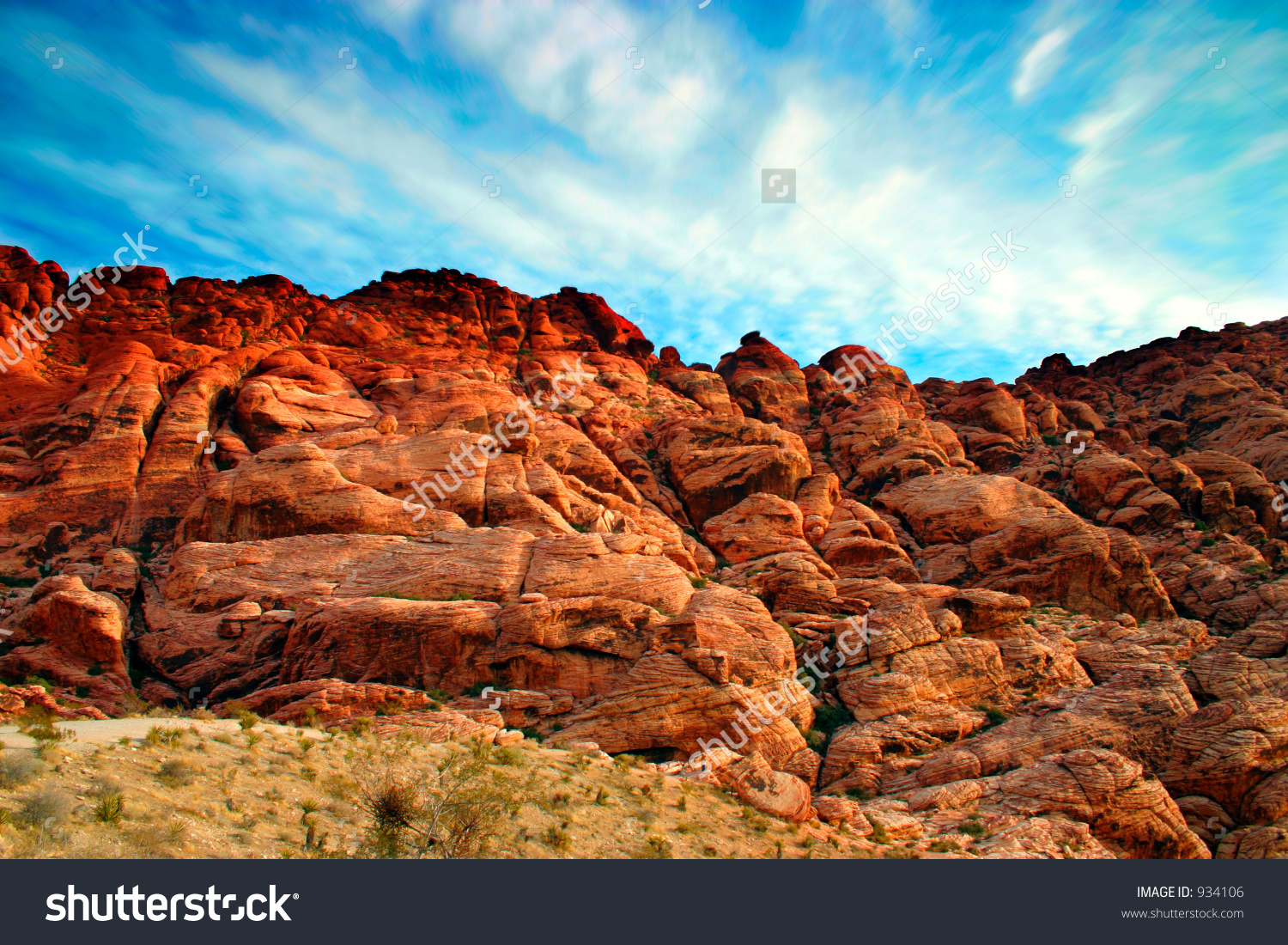 Red Rock Canyon clipart #1, Download drawings