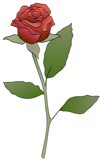 Red Rose clipart #7, Download drawings