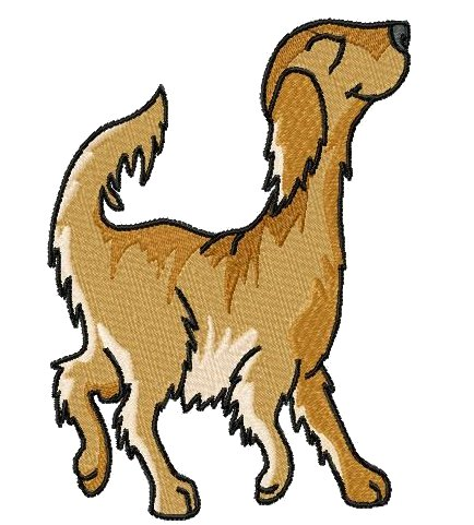 Red Setter clipart #1, Download drawings