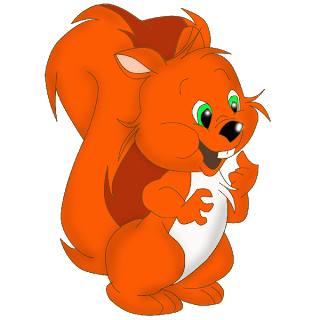 Red Squirrel clipart #12, Download drawings