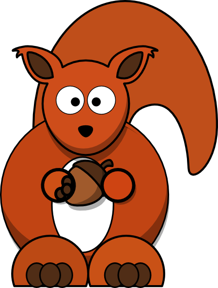 Red Squirrel clipart #20, Download drawings