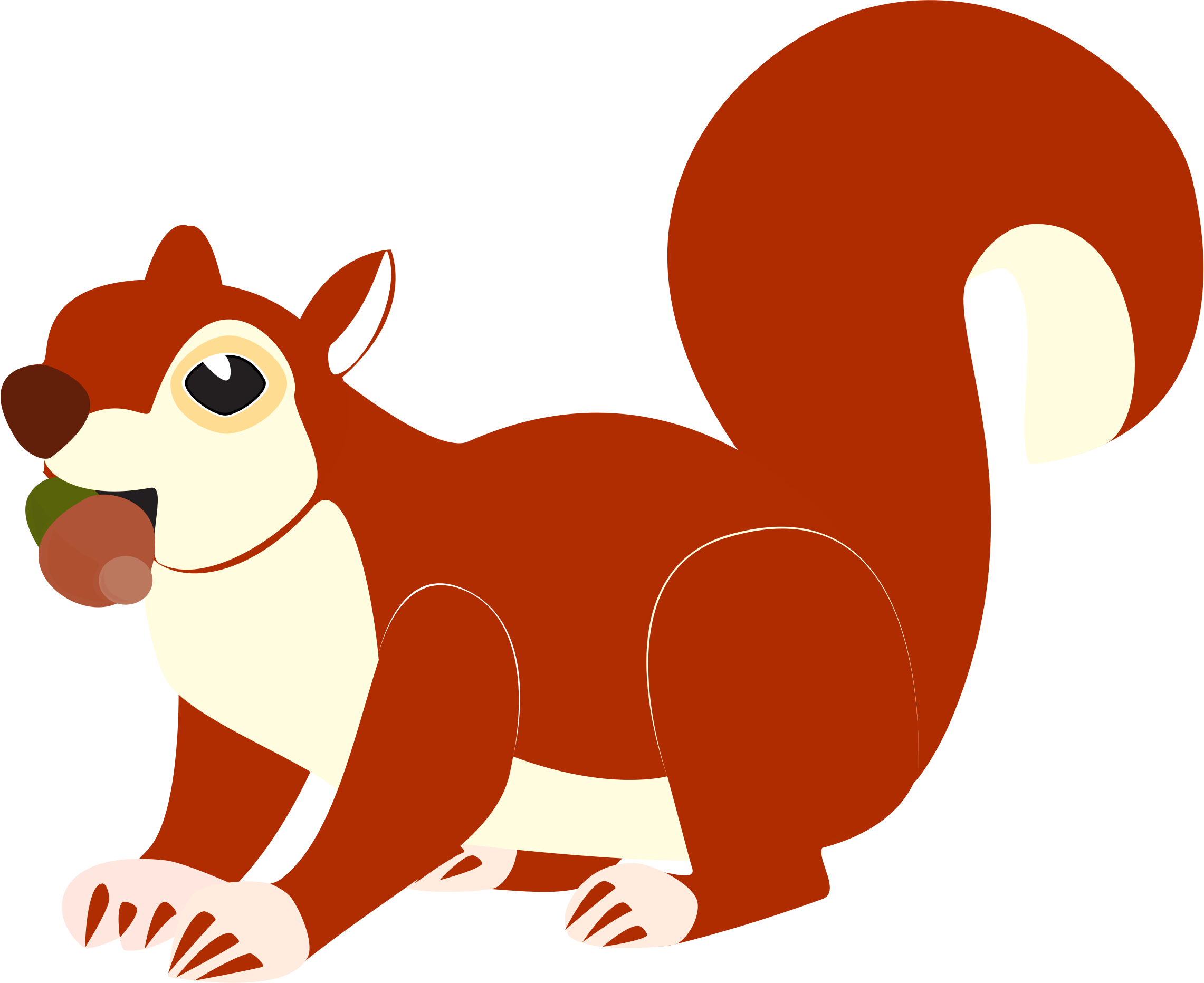 Red Squirrel clipart #16, Download drawings