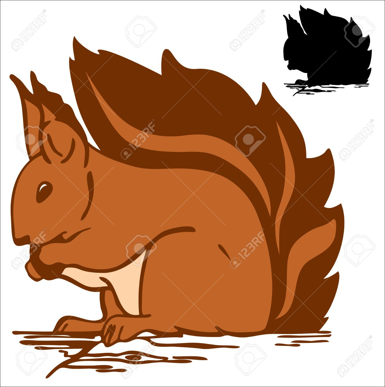 Red Squirrel clipart #10, Download drawings