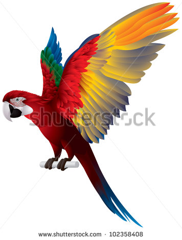 Red-and-green Macaw clipart #19, Download drawings