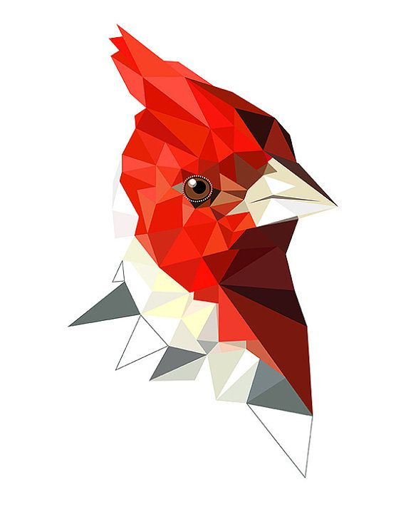 Red-Crested Cardinal svg #18, Download drawings