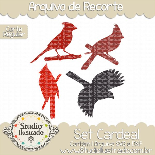 Red-Crested Cardinal svg #2, Download drawings
