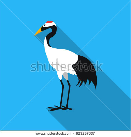 Red-crowned Crane clipart #10, Download drawings