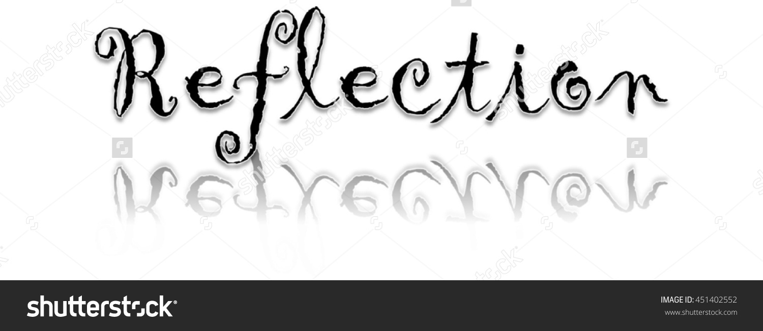 Reflection clipart #2, Download drawings