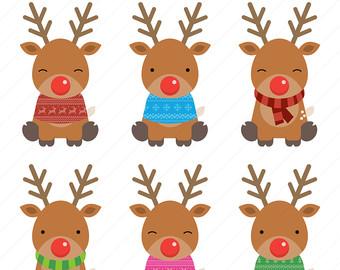 Reindeer clipart #18, Download drawings