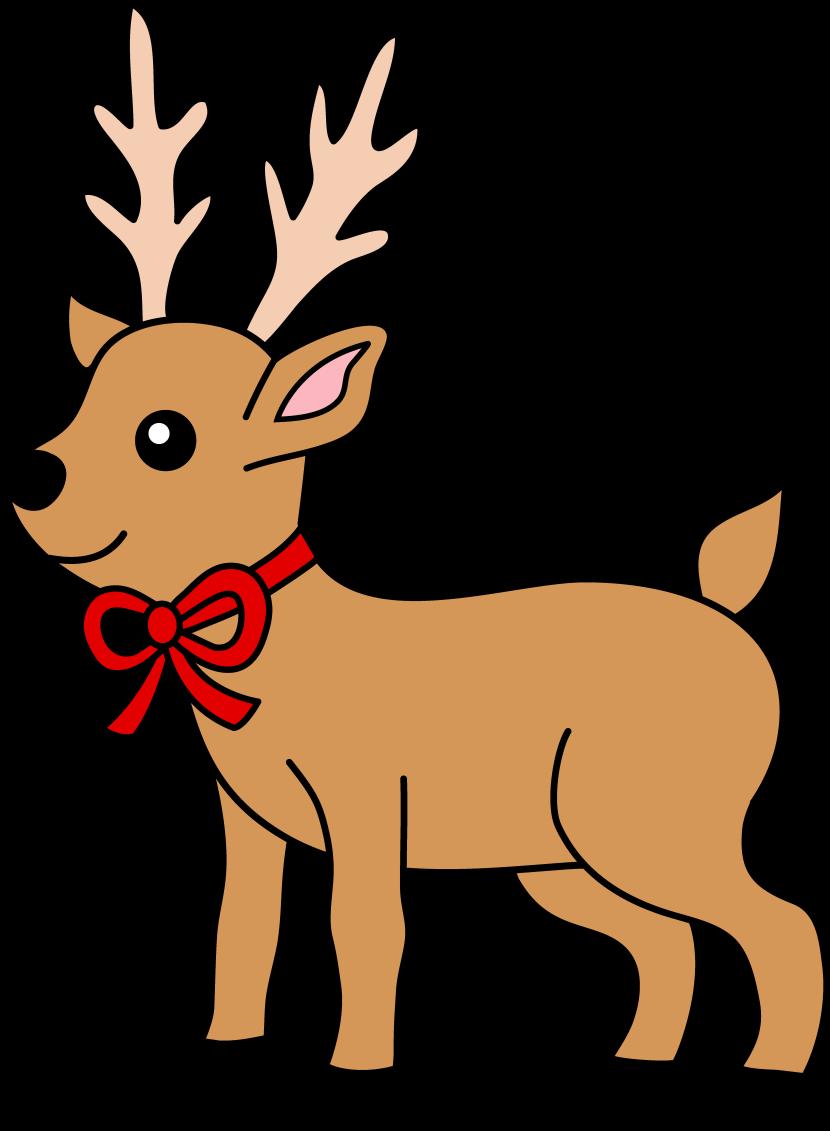 Reindeer clipart #16, Download drawings