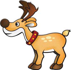Reindeer clipart #15, Download drawings