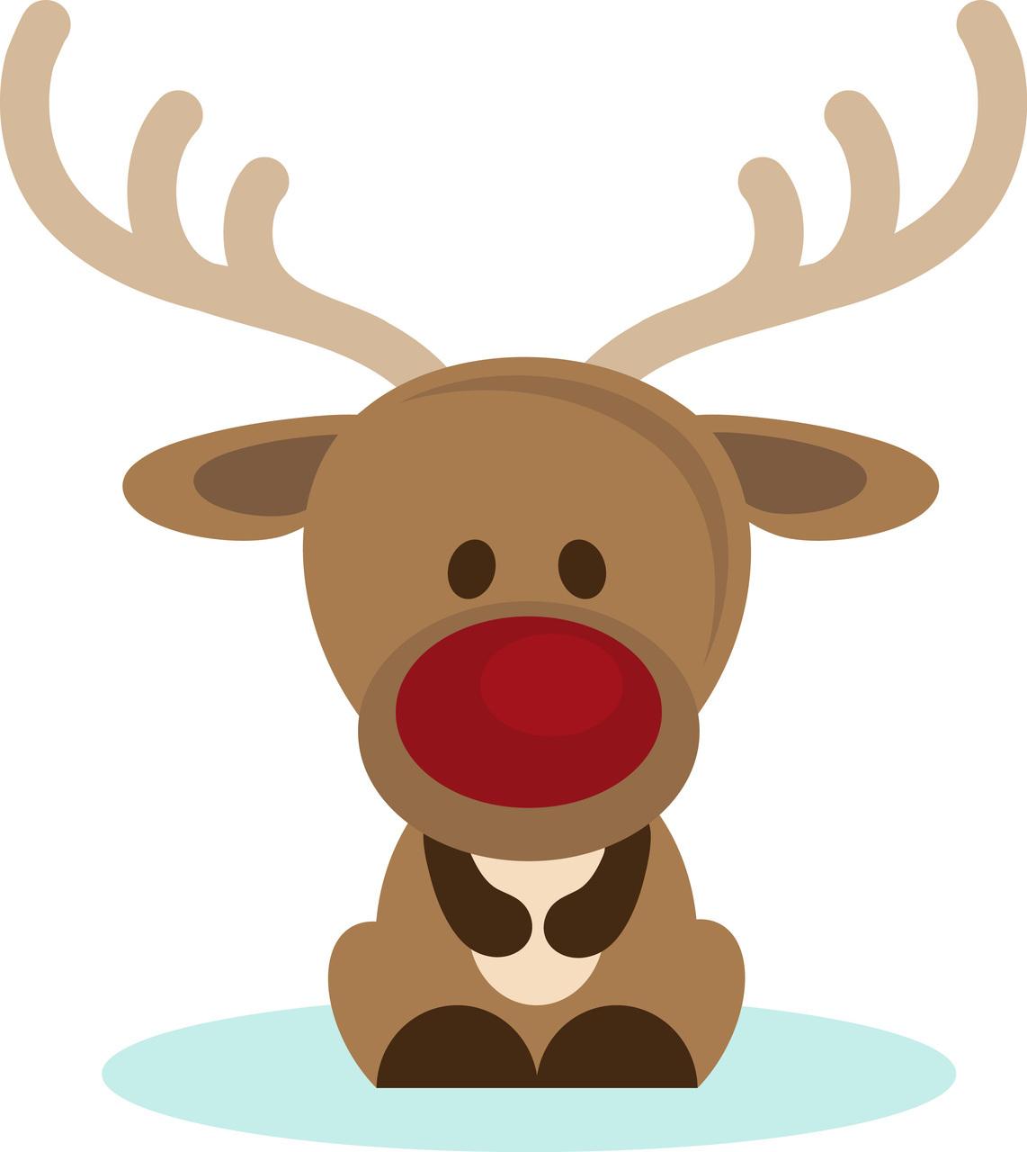 Reindeer clipart #2, Download drawings