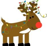 Reindeer clipart #3, Download drawings