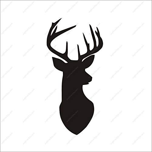 reindeer head svg #932, Download drawings