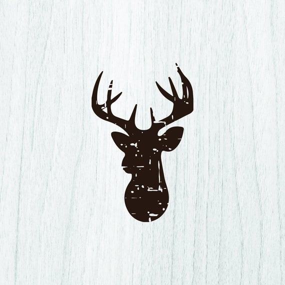 reindeer head svg #931, Download drawings