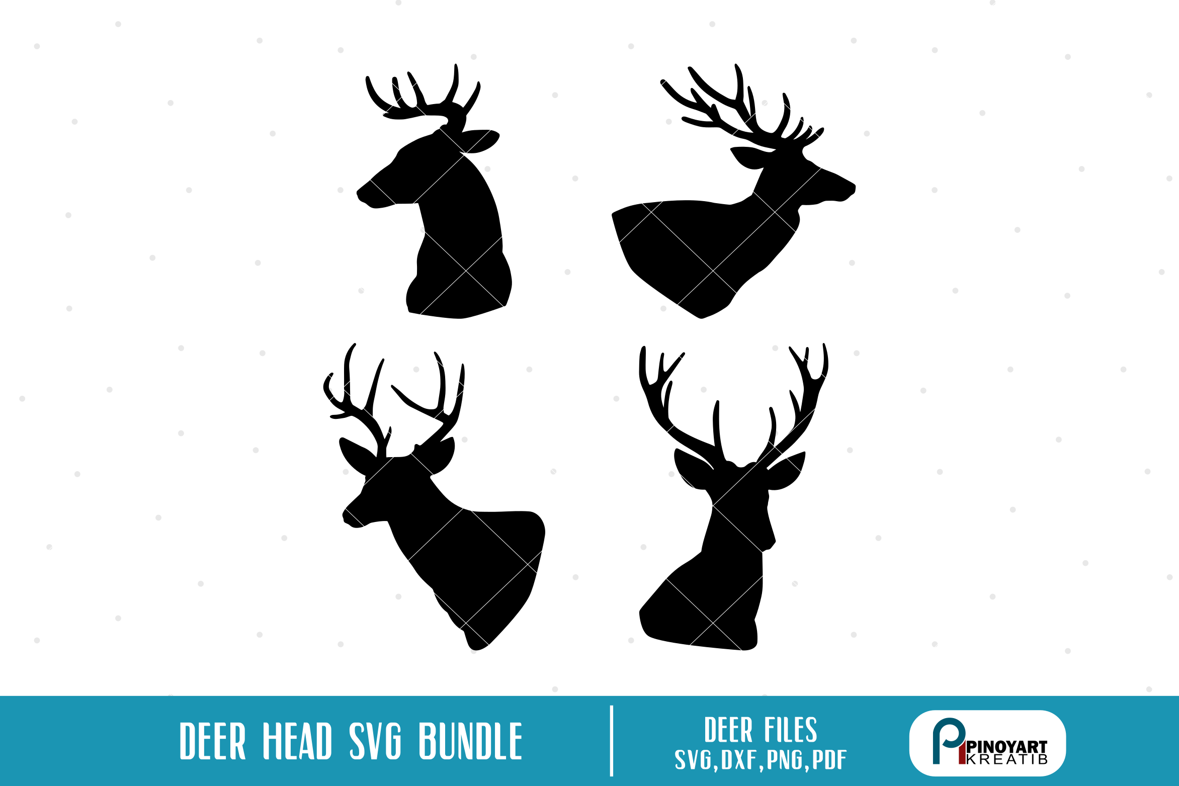 reindeer head svg #928, Download drawings