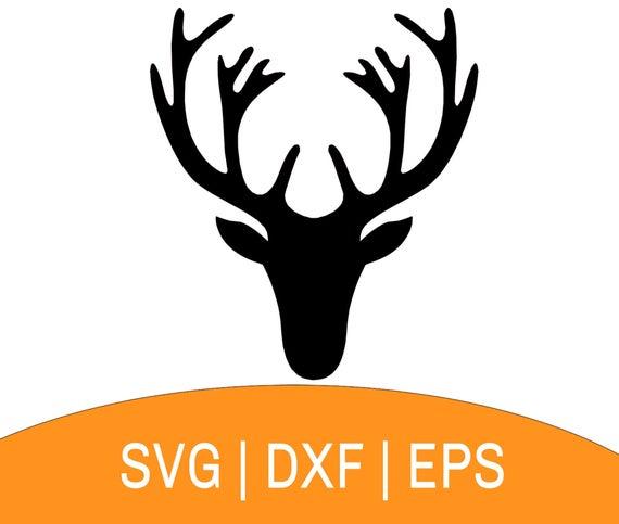 reindeer head svg #929, Download drawings