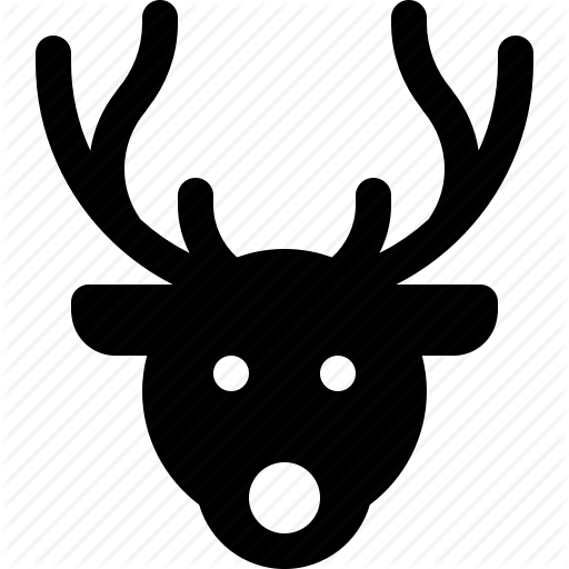 reindeer head svg #922, Download drawings