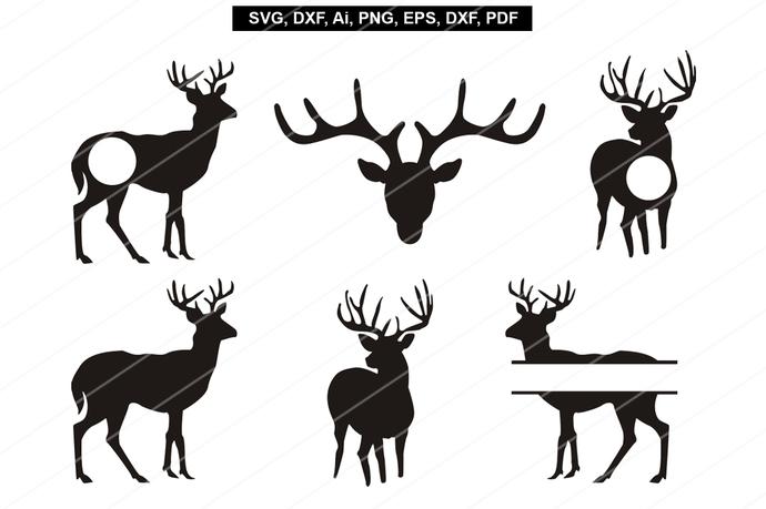 reindeer head svg #925, Download drawings