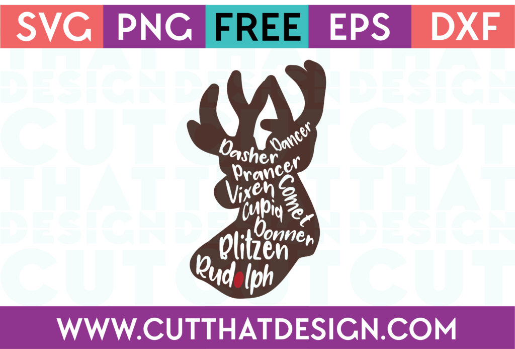 reindeer names svg #738, Download drawings