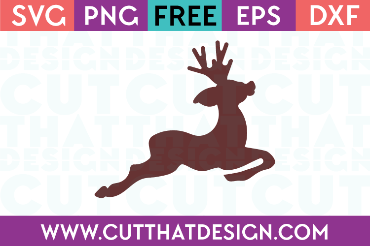 reindeer silhouette svg #452, Download drawings