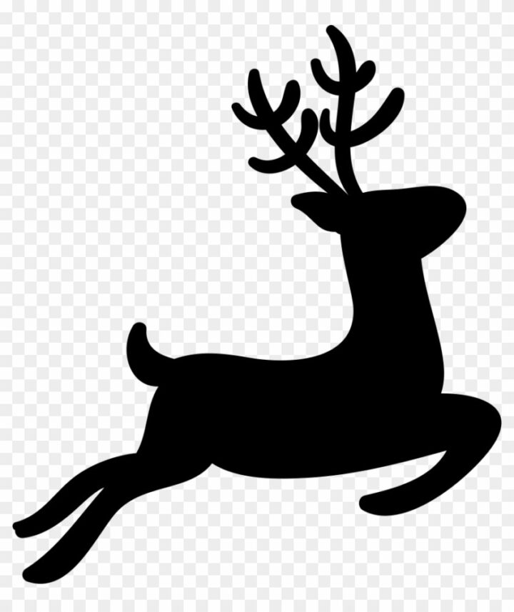 reindeer silhouette svg #453, Download drawings
