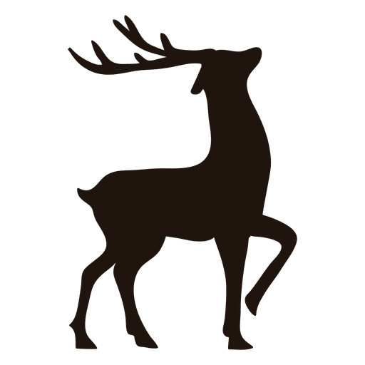 reindeer silhouette svg #450, Download drawings