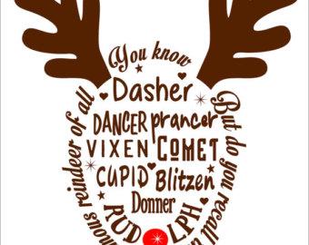 Reindeer svg #9, Download drawings