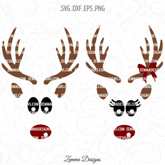 Reindeer svg #6, Download drawings