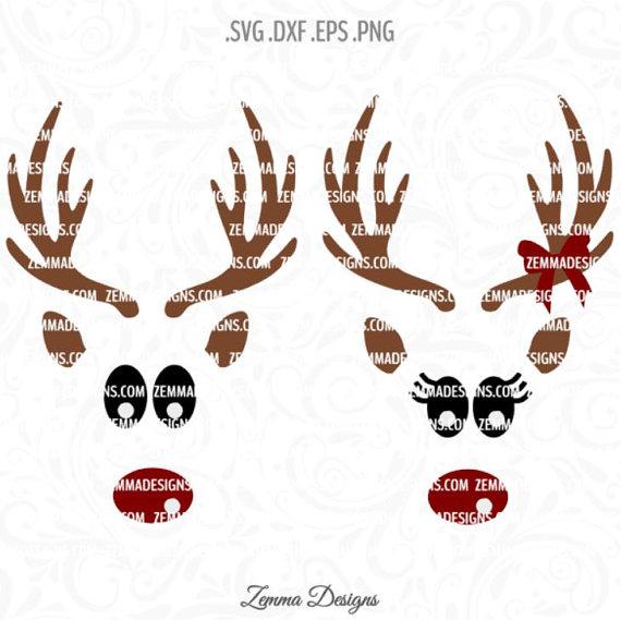 Reindeer svg #6, Download drawings