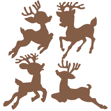 Reindeer svg #3, Download drawings