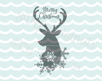 Reindeer svg #5, Download drawings