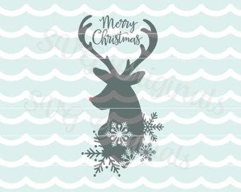 Reindeer svg #5, Download drawings