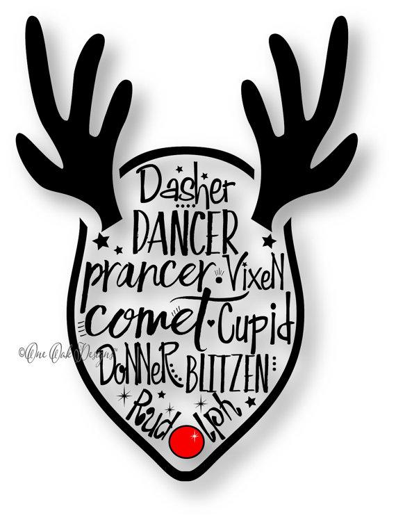 Reindeer svg #7, Download drawings