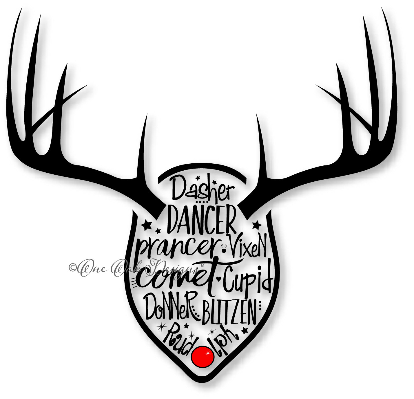 Reindeer svg #15, Download drawings
