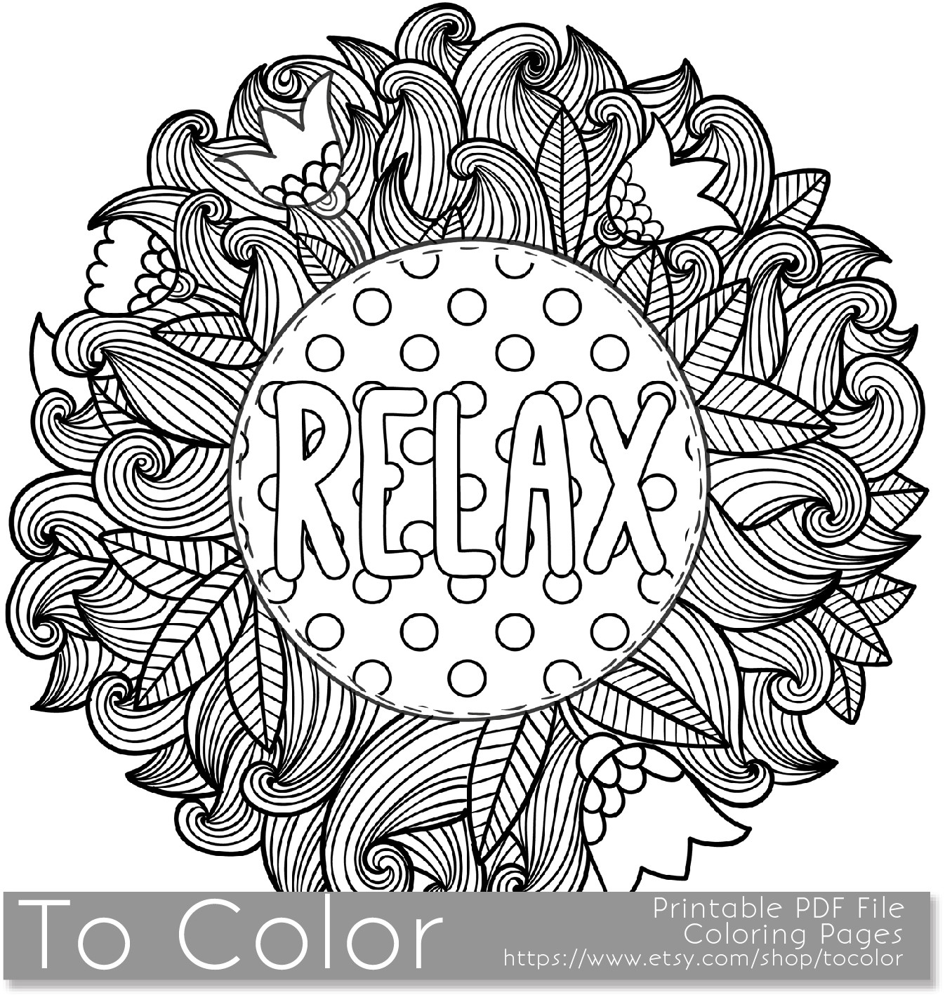 Relax coloring #20, Download drawings