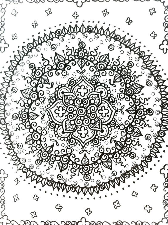 Relax coloring #6, Download drawings