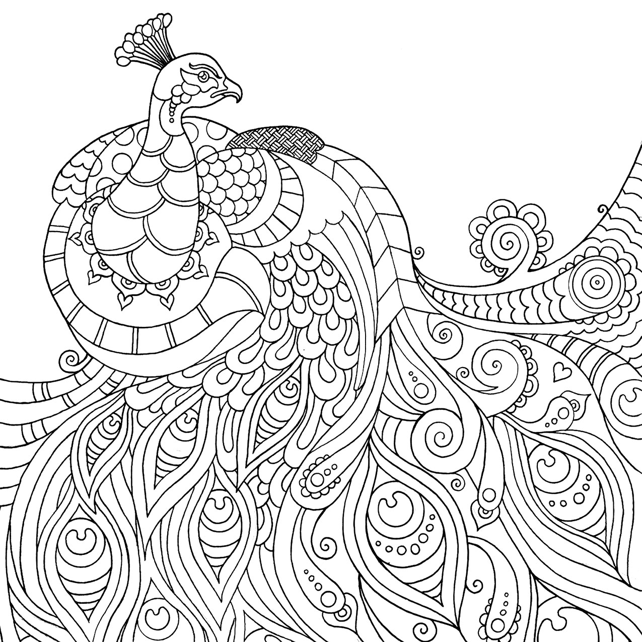 Relax coloring #2, Download drawings