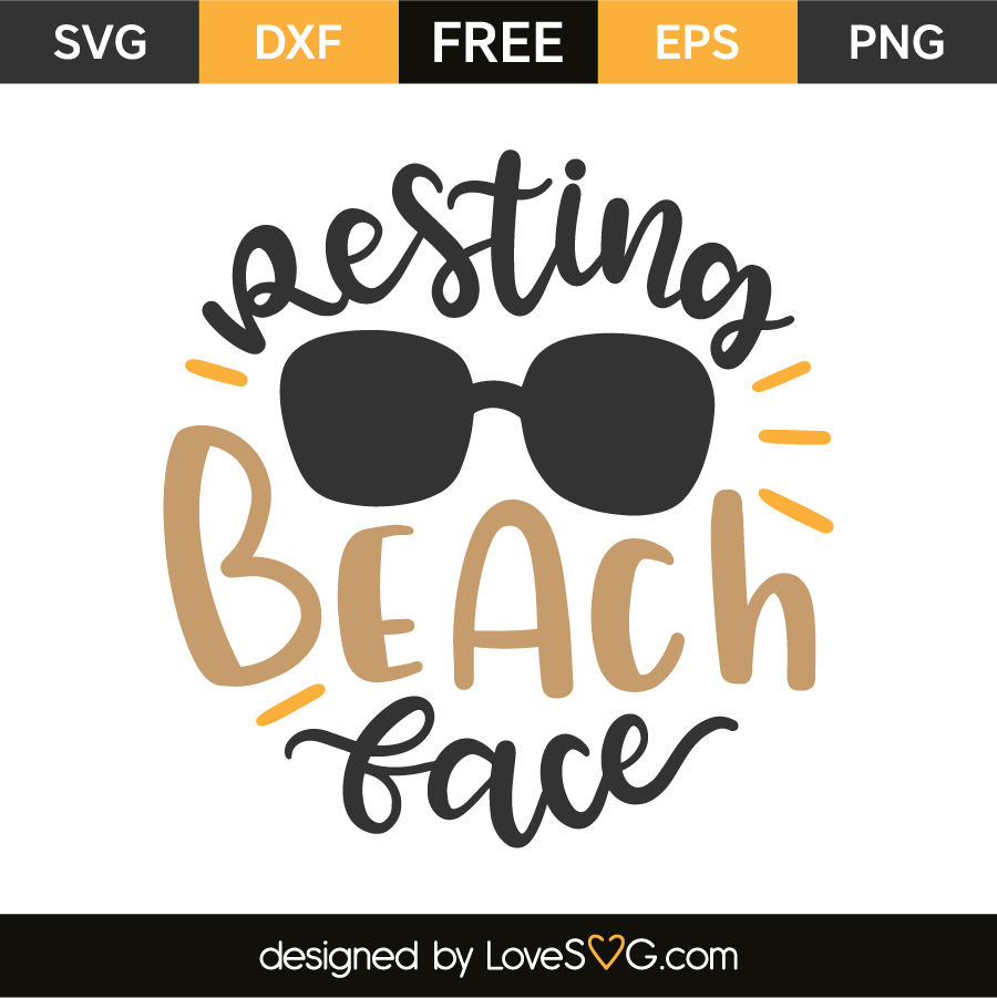resting beach face svg #833, Download drawings