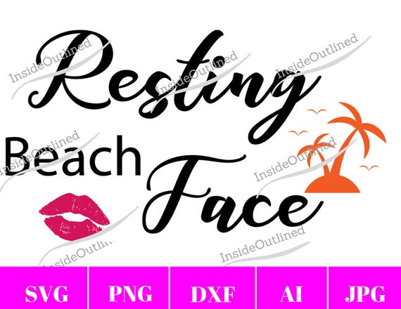 resting beach face svg #838, Download drawings