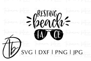 resting beach face svg #834, Download drawings