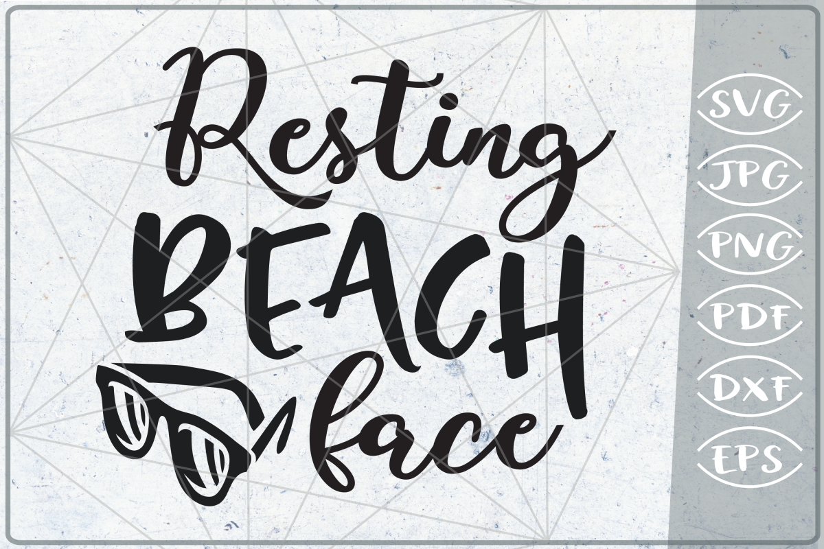 resting beach face svg #839, Download drawings