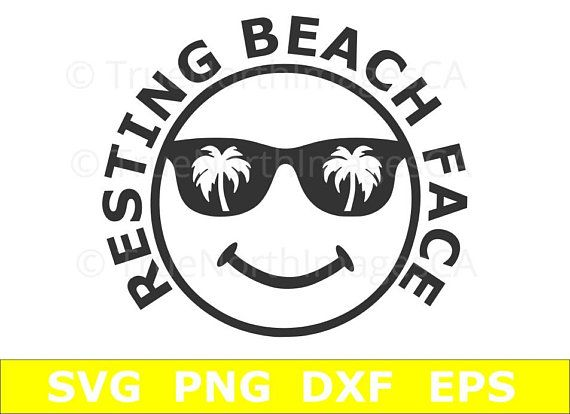 resting beach face svg #835, Download drawings