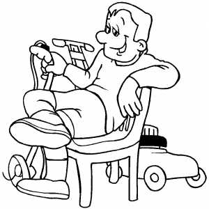 Resting coloring #17, Download drawings