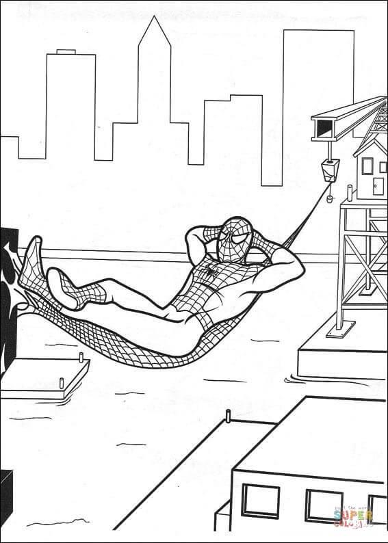 Resting coloring #5, Download drawings