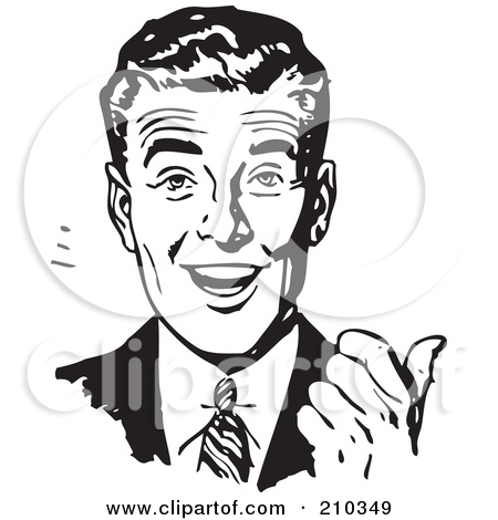 Retro clipart #1, Download drawings