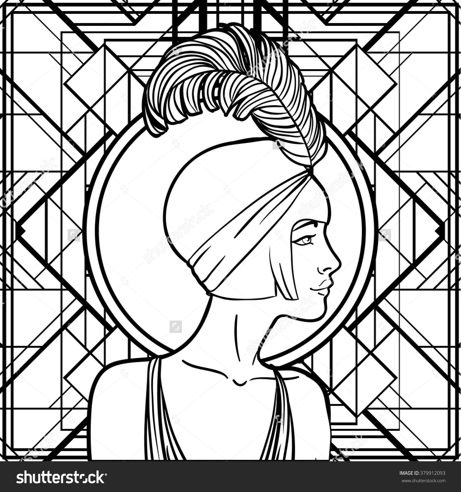 Retro coloring #5, Download drawings