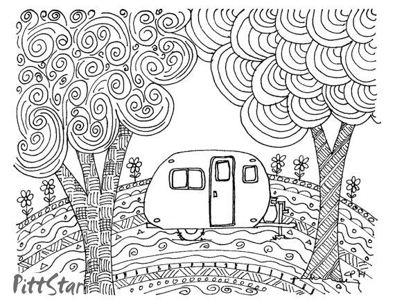 Retro coloring #15, Download drawings